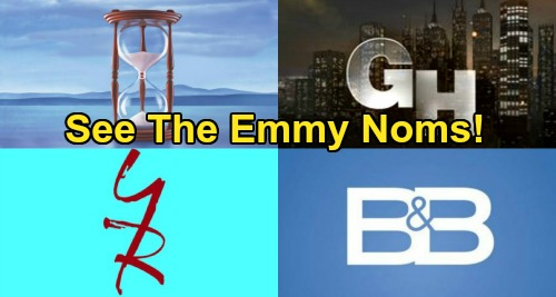 47th Annual Daytime Emmy Award Nominations – See Which Talented GH, Y&R, DOOL and B&B  Stars Were Recognized