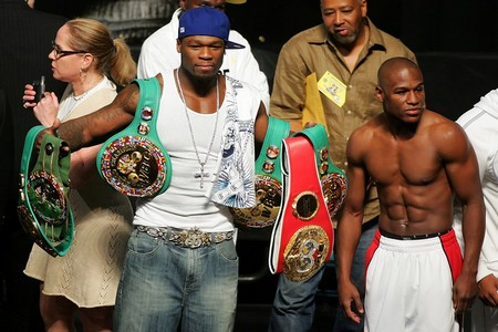 50 Cent and Floyd Mayweather Ugly Twitter Fight – Makes Granny Step In!