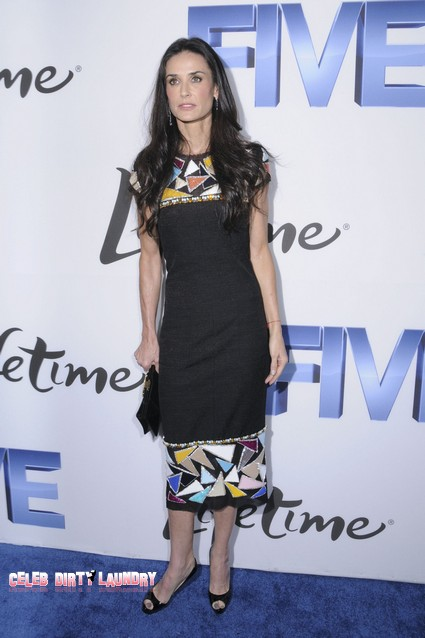 Update: Demi Moore's Drug Hospitalization Costs Her Lovelace Movie Role