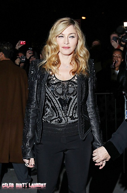 Madonna Takes Her ToyBoy And A Bottle To Dinner