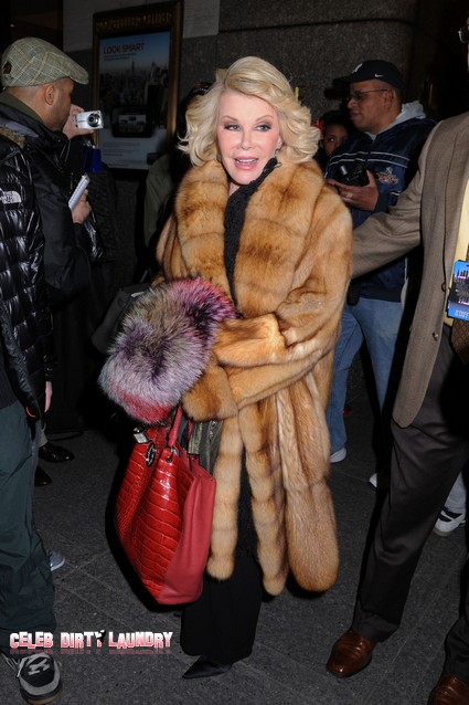Joan Rivers Slams Chelsea Handler on Howard Stern, Says She Slept Her Way to the Top