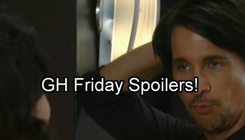 'General Hospital' Spoilers: Friday Cliffhanger - Jason Gets Sam's Shocking Truth – Finn Snaps at Obrecht – Lulu Visits Valentin