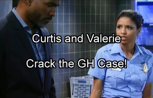 'General Hospital' Spoilers: Curtis and Valerie Crack GH Serial Killer Case with Cufflink Clue - Angel of Death Tied to PCPD