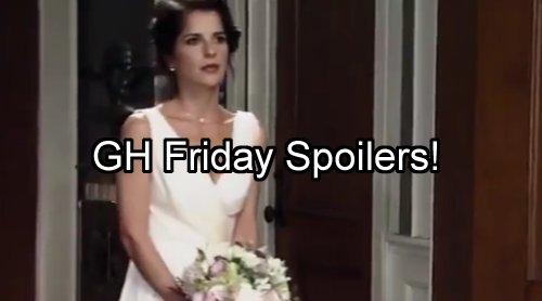 General Hospital Spoilers: Friday September 2 – JaSam Wedding and Spinelli – Ava Crushes Nina's Baby Hope Naomi Warns Franco