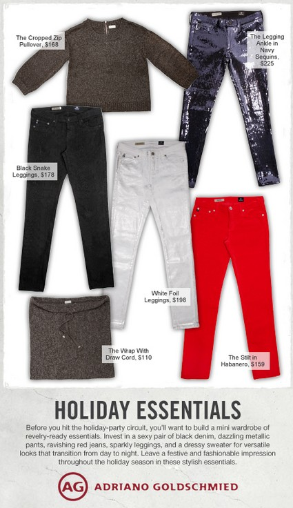Holiday Essentials: AG Jeans