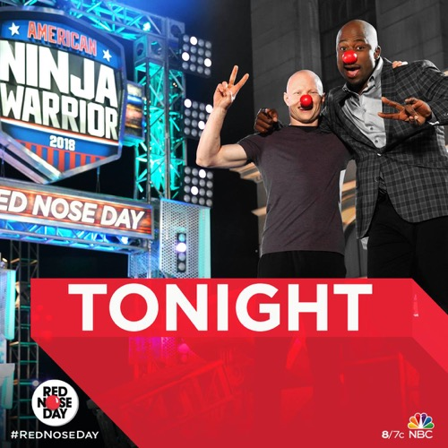 "American Ninja Warrior Recap 5/24/18: ""Red Nose Day: Celebrity Ninja Warrior"""