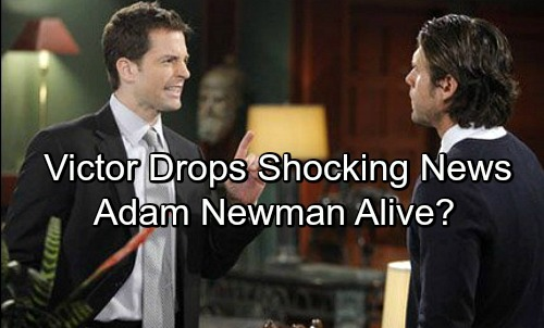 The Young and the Restless Spoilers: Victor Drops an Adam Bomb – Son's Alive and Well, Uses Stunning News to Manipulate Nick?