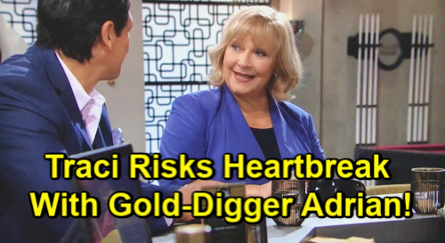 The Young and the Restless Spoilers: Traci Risks Heartbreak as Adrian Reels Her In – Protective Kyle Delivers Fierce Warning?