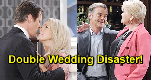 Days of Our Lives Spoilers: Double Wedding Disaster, Brides Face Coma, Death - Heartbreak Hits Jack and Justin Hard