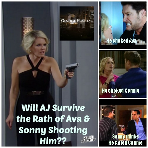 General Hospital Spoilers: Will AJ Quartermine Wake Up and Tell Michael that Sonny Shot Him and Ava Murdered Connie - Are They On The Way To Prison?