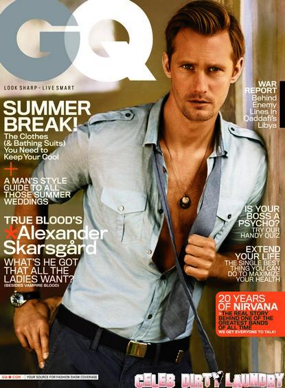 Alexander Skarsgard 'Here Comes The Viking' June 2011 Cover of GQ
