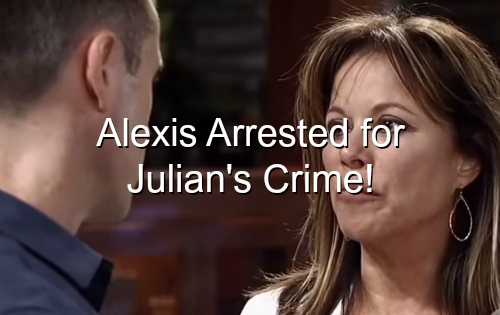 General Hospital (GH) Spoilers: Alexis Arrested for Carlos Murder - Cassadine Dagger DNA Implicates Lawyer?