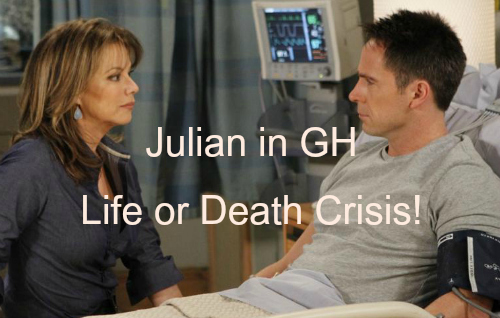 'General Hospital' Spoilers: Julian Critical Condition, Life or Death Crisis - Failed Hit by Sonny or Alexis Self-Defense?