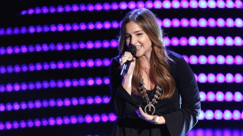 """Watch Alisan Porter Perform """"Stone Cold"""" on The Voice Top 12 Video 4/18/16"""