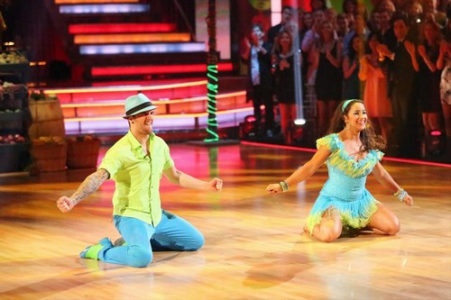 Aly Raisman Dancing With the Stars Jive Trio Dance Video 5/6/13