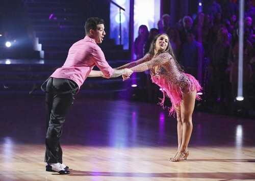 Aly Raisman Dancing With the Stars Quickstep Video 3/25/13