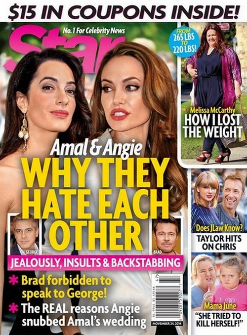Angelina Jolie and Amal Alamuddin Hate Each Other: Divided by Humanitarian and Political Issues (PHOTO)