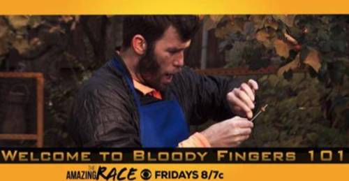 "The Amazing Race Recap 4/8/15: Recap Season 28 Episode 7 ""Welcome to Bloody Fingers 101"""