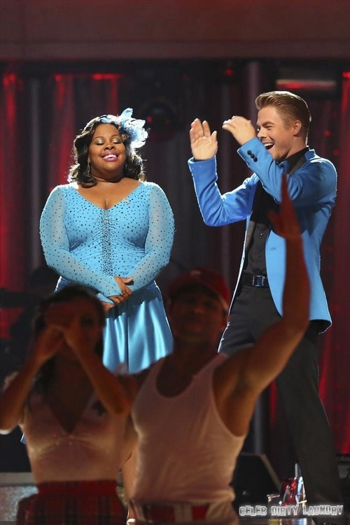 Amber Riley Dancing With the Stars Charleston Video 9/30/13