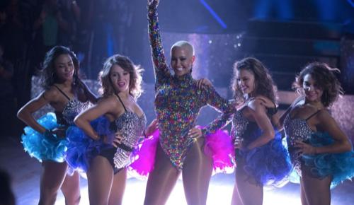 Amber Rose Dancing With The Stars Cha Cha Video Season 23 Week 5 – 10/17/16 #DWTS
