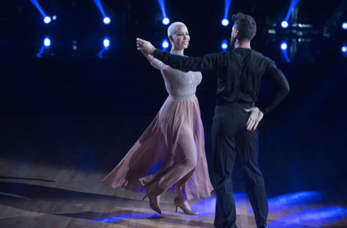Amber Rose Dancing With The Stars Viennese Waltz Video Season 23 Week 2 – 9/19/16 #DWTS