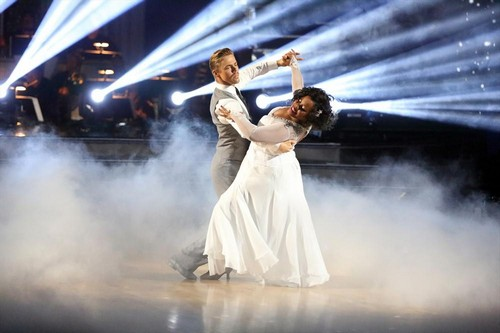 Amber Riley Dancing With the Stars Charleston Video 11/25/13