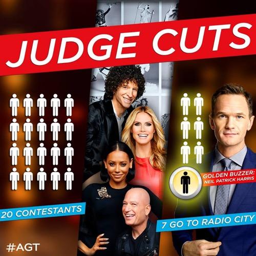 """America's Got Talent 2015 Recap - NPH Guests on Judges Cut: Season 10 Episode 8 """"Judge Cuts 1"""""""
