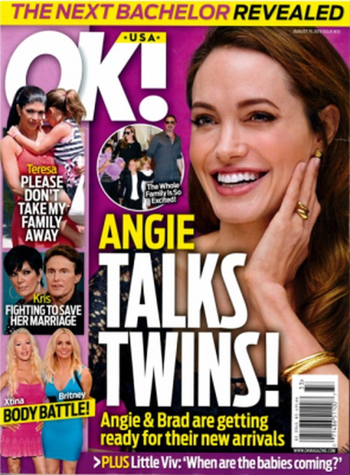Angelina Jolie & Brad Pitt Talk About Twins -- Preparing for their Arrival! (PHOTO)