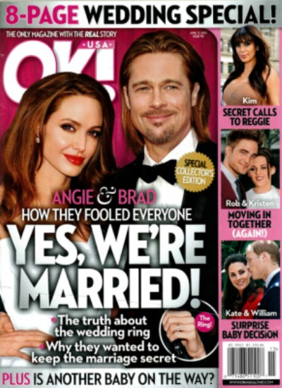 Angelina Jolie And Brad Pitt Married In Secret L.A. Ceremony! (Photo) 0403