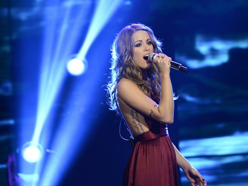 "Angie Miller American Idol 2013 ""Sorry Seems To Be The Hardest Word"" Video 5/8/13"