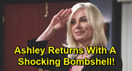 The Young and the Restless Spoilers: Ashley Returns to Genoa City with a Bombshell – Abbott Family Receives Shocking News