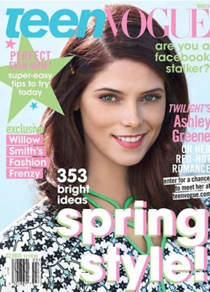 Ashley Greene Calls Miley Cyrus 40 Years Old In Teen Vogue