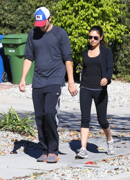 Mila Kunis' Friends Worried Ashton Kutcher Will Cheat On Her Like Demi Moore 0517