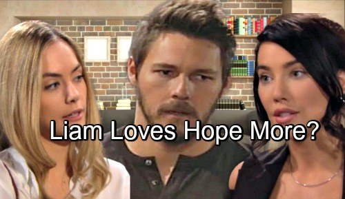 The Bold and the Beautiful Spoilers: Liam Loves Hope More Than Steffy – Steamroller in Los Angeles?