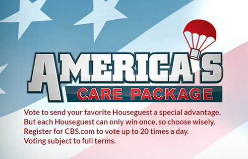 Big Brother 18 Spoilers: America's Care Package Twist – 5 Weeks of Game Advantages Decided By Your Vote - Special Power Revealed