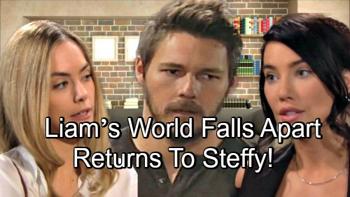 The Bold and the Beautiful Spoilers: Liam's World Falls Apart – Hope Conflict and Baby Shockers Push Him Back Toward Steffy