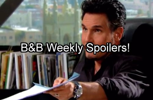 'The Bold and The Beautiful' Spoilers: Week of August 8 – Katie Takes Bill to Cleaners – Eric Chooses Quinn Over Family
