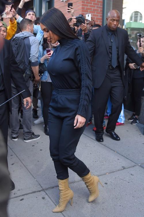 Kim Kardashian Pretends to Attend Beyoncé's Baby Shower