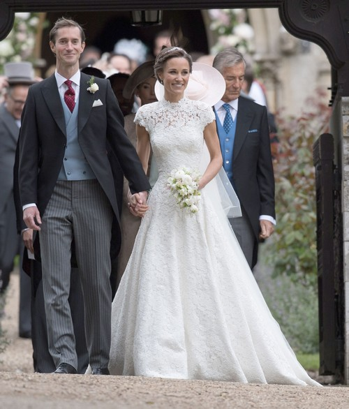 Pippa Middleton Chose Not To Make Booty Center Of Attention At Lavish Wedding