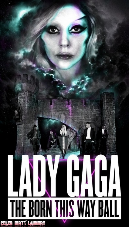 First Look At Lady Gaga's Freaky World Tour Poster (Photo)