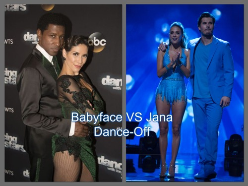"Jana Kramer Beats Kenny ""Babyface"" Edmonds: Dancing With The Stars Jive Face-Off Video Season 23 Week 3"