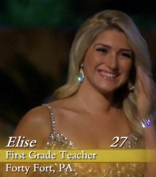 "Elise Mosca Bachelor Contestant: ""Teacher"" is Really a Porno Video Star - The Bachelor Season 18 Juan Pablo Scandal (PHOTOS)"