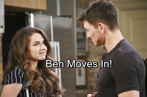 Days of Our Lives Spoilers: Ben Moves Into the Loft - Claire Schemes To Get Tripp For Herself