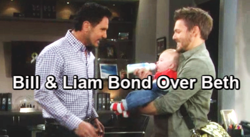 The Bold and the Beautiful Spoilers: Bill Welcomes New Granddaughter Beth - Bonds With Liam, Shares Heartwarming Moment