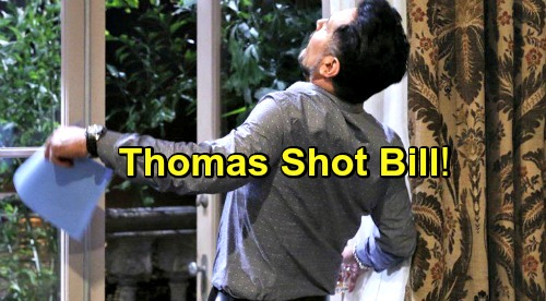 The Bold and the Beautiful Spoilers: New Bill Shooter Shocker Revealed – Thomas Is the Culprit in Stunning Twist?