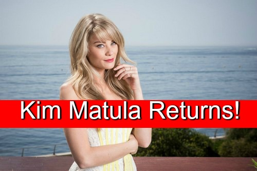 The Bold and the Beautiful (B&B) Spoilers: Kim Matula Back as Hope – Returns Upon Deacon's Arrest