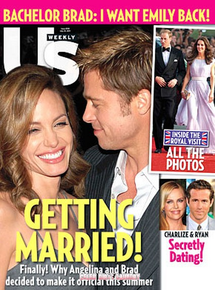 Is There A Wedding In The Horizon For Brad Pitt And Angelina?