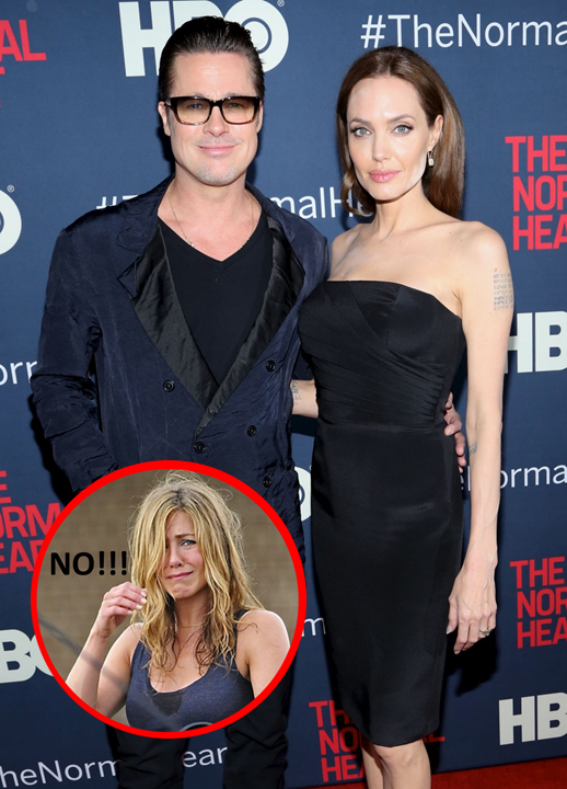 Brad Pitt and Angelina Jolie Finally Married - Jennifer Aniston Reacts!