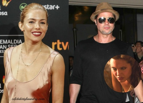 Brad Pitt Cheating With Sienna Miller: Angelina Jolie Convinced Husband Will Be Unfaithful On 'The Lost City Of Z' Set