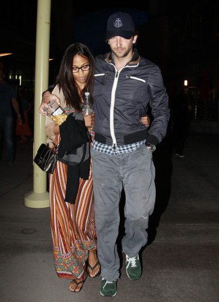 Bradley Cooper And Zoe Saldana Back Together! (Photos) 0923
